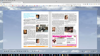 Spotlight Magazine in page-flip view