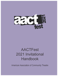 Cover image of 2021 AACTFest Handbook