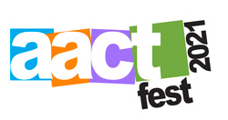 Logo for AACTFest 2021