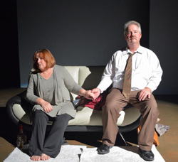 Photo from Edward Albee's The Marriage Play
