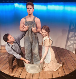 "Photo from the Wetumpka Depot Theatre production of ""The Diviners"""