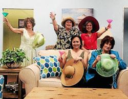 "Photo of cast of ""The Dixie Swim Club"""