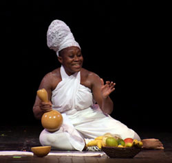 """Photo from Coalescence Theatre Project production of """"Walking with My Ancestors"""""""