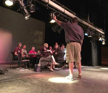 Photo of lighting workshop